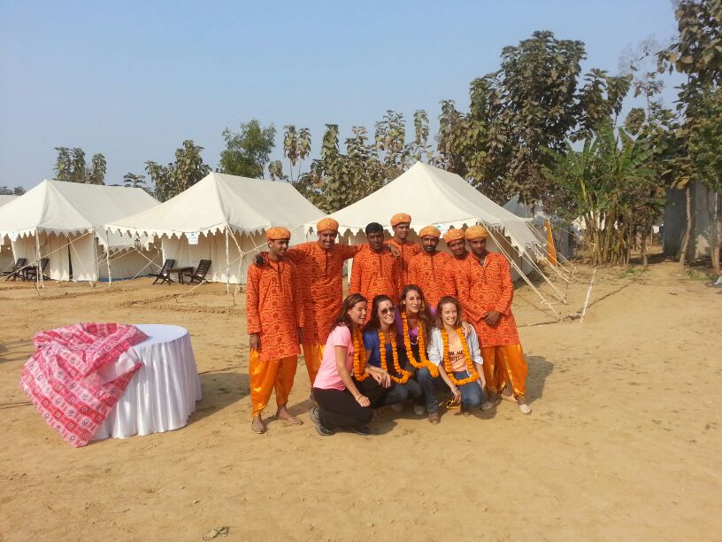 Kumbh Camp India Allahabad 2013